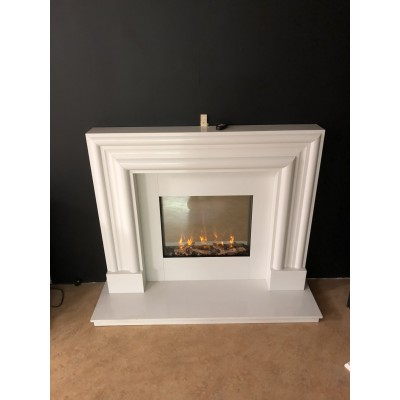 Bolection- Marble Fireplace