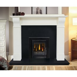 Naples - Marble Fireplace