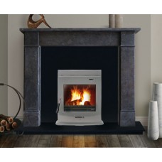 Flat Victorian Rio Cinza - Marble Fireplace