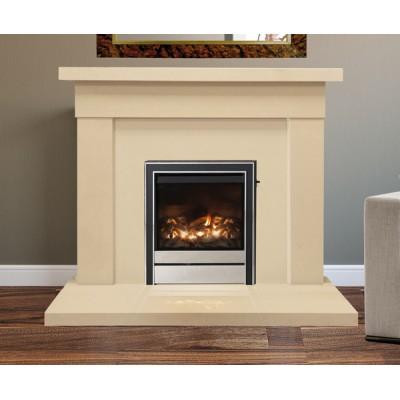 Abbey Limestone Fireplace