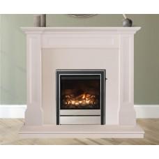 Montuk Limestone Fireplace