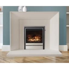 Newman Limestone Fireplace