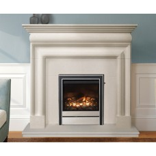 Pembroke Bolection Limestone Fireplace