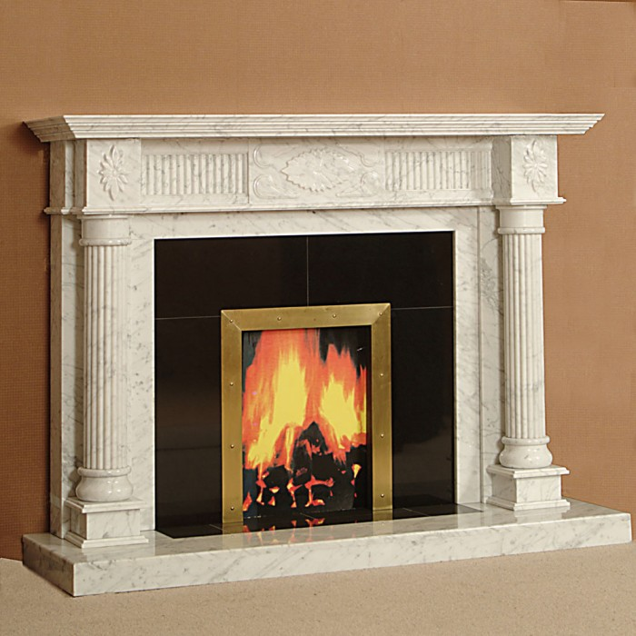 The Alexandria Marble Fireplace