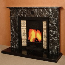 The Cedar Marble Fireplace