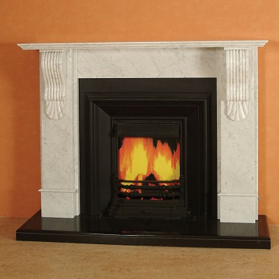 The Kimberly Marble Fireplace