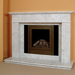 The Mill Marble Fireplace
