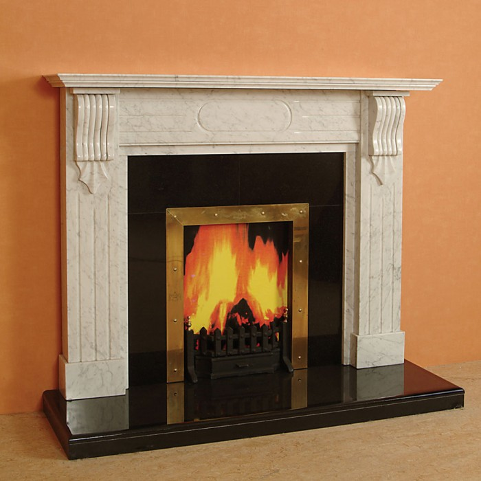 The nairobi marble fireplace marble fireplace kilkenny for Marble mantels for sale