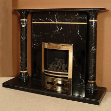 The Pharaoh Marble Fireplace