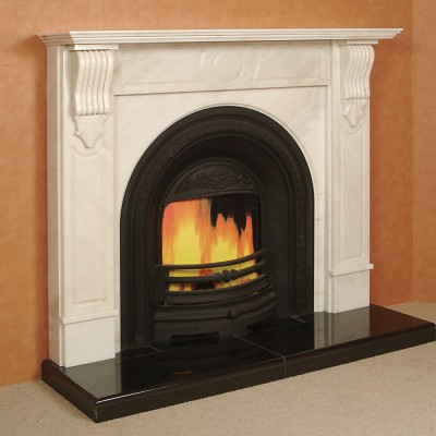 The Senegal Marble Fireplace