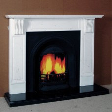 The Sicily Marble Fireplace