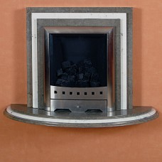 Wall Mounted Marble Fireplace
