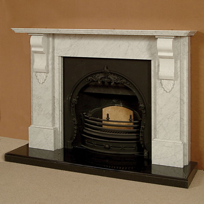 The melbourne marble fireplace marble fireplace kilkenny for Marble mantels for sale