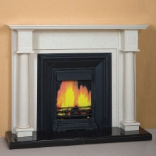The Marbella Marble Fireplace