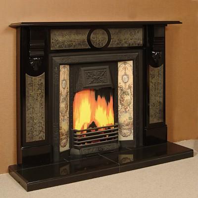 The Damascus Slate Fireplace