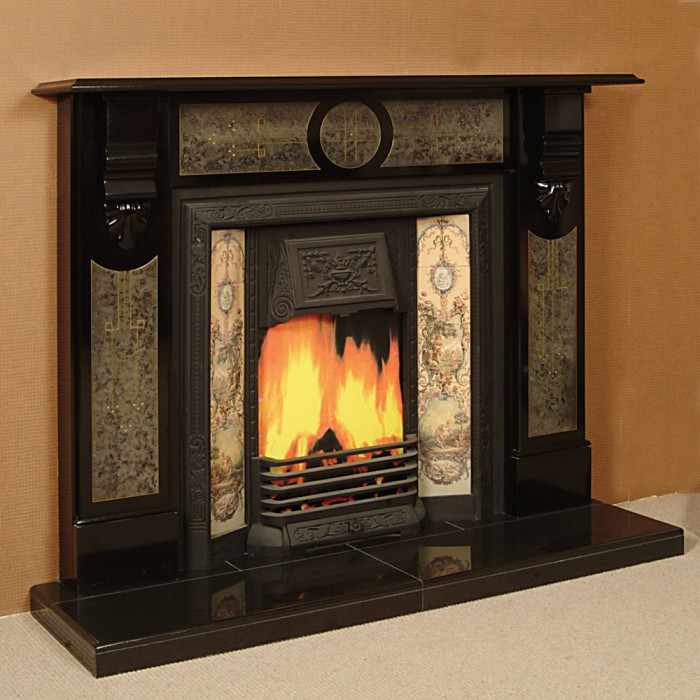 The Damascus Slate Fireplace Fireplaces Ireland Slate