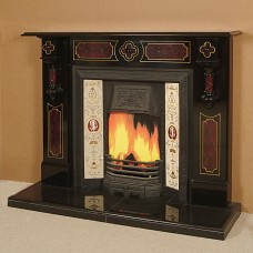 The Darwin Slate Fireplace