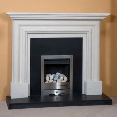 The Brandon Limestone Fireplace