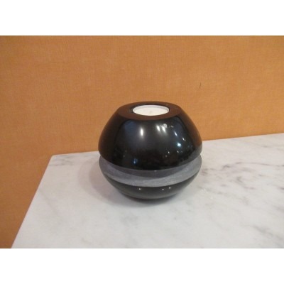 Kilkenny Black Marble Candle Holder