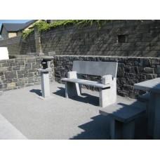 Irish Limestone Seat