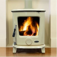 Ashford Cream Enamel Room Heater Stove