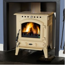 Blackrock Cream Enamel Stove